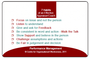 The Best Coach - 7 Habits of an Effective Coach
