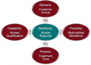 Figure 2: Variables Leading to Workforce Needs